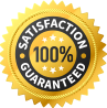 One Year 100% Satisfaction Guarantee